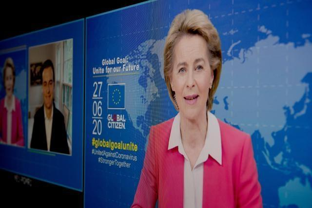 Press statement by Ursula von der Leyen, President of the European Commission, and Hugh Evans, Co-founder and CEO of Global Citizen, on the next steps in the Coronavirus Global Response